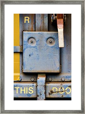 This Doo Framed Print by Carol Leigh