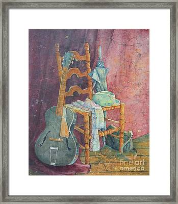 This Gibson Came To Play Framed Print by Sarah Luginbill