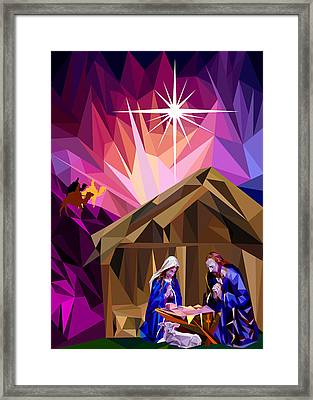 This Holy Night Framed Print by James Bryson