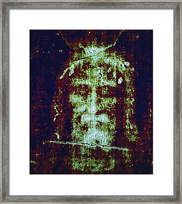 This Is A Computer-enhanced Image Framed Print by Victor R. Boswell, Jr