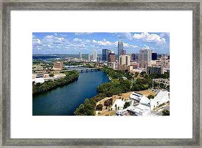 This Is Austin Framed Print by James Granberry