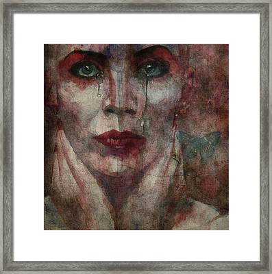 This Is Fear This Is Dread These Are The Contents Of My Head @2 Framed Print by Paul Lovering