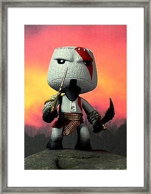 This Is Little Big Sparta Framed Print by Piggy