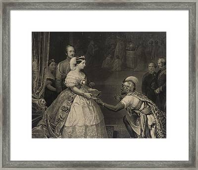 This Is The Secret Of England's Greatness Framed Print by Thomas Jones Barker