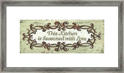 This Kitchen Framed Print by Debbie DeWitt