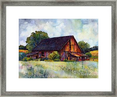 This Old Barn Framed Print by Hailey E Herrera