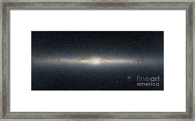 This Panoramic View Encompasses Framed Print by Stocktrek Images