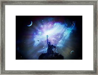 This Poor Man Cried, And The Lord Heard Him, And Saved Him Out Of All His Troubles. Framed Print by Jean Francois Gil