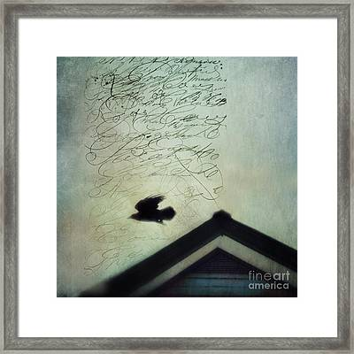 This Roof Is My Home Framed Print by Priska Wettstein