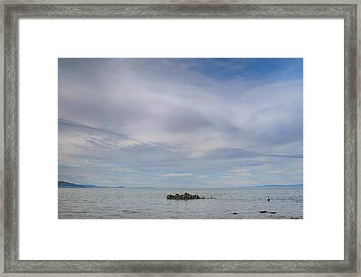 This Vast Silence Framed Print by Laurie Search