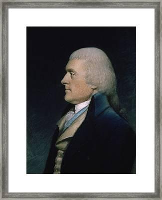 Thomas Jefferson Framed Print by James Sharples