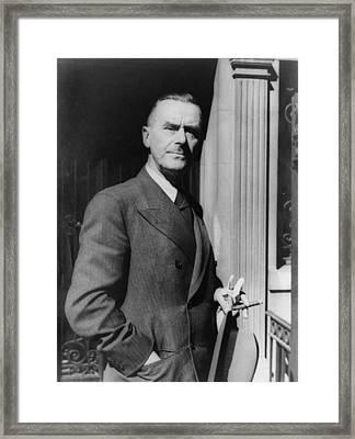 Thomas Mann, 1875-1955 German Novelist Framed Print by Everett