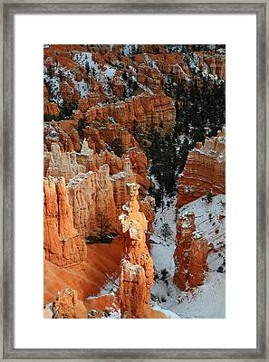Thor's Hammer In The Sunlight Framed Print by Pierre Leclerc Photography