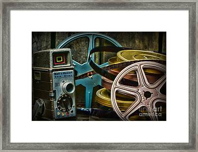 Those Old Movies Framed Print by Paul Ward
