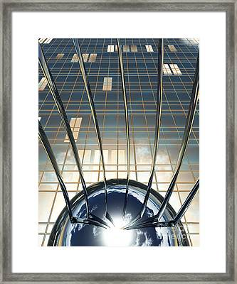 Thought Control Framed Print by Richard Rizzo