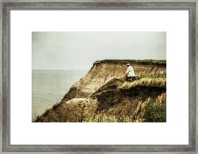 Thoughts Travel Far Framed Print by Odd Jeppesen