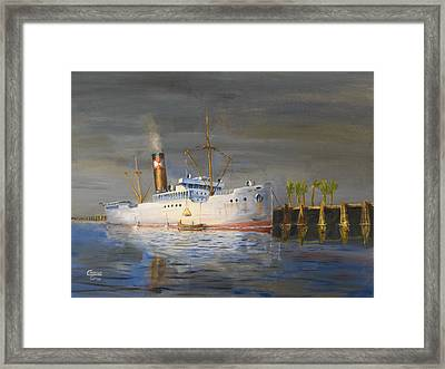 Three Degrees North Framed Print by Christopher Jenkins