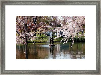 Three Graces Framed Print by Kathleen Struckle