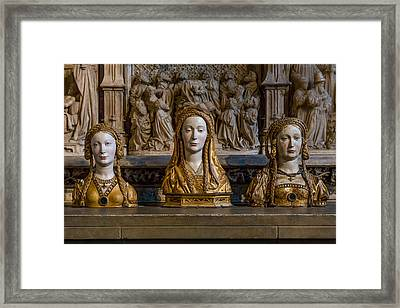 Three Saints Framed Print by Capt Gerry Hare
