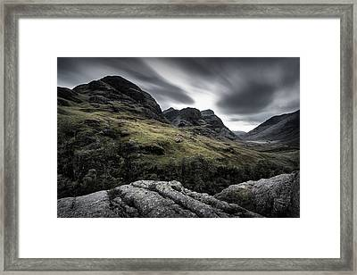 Three Sisters Framed Print by Dave Bowman