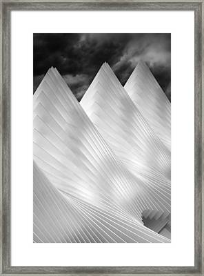 Three Summits Framed Print by Michiel Hageman