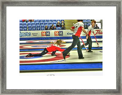 Three Times World Champions Framed Print by Lawrence Christopher