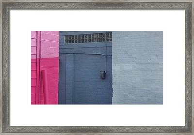 Three Wall Day Framed Print by Ross Odom