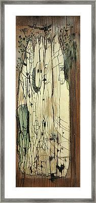 Through The Cracks Framed Print by Konrad Geel