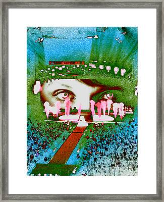 Through The Eyes Of Taylor Framed Print by Kim Peto
