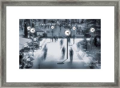 Through The Time Framed Print by Svetlana Sewell