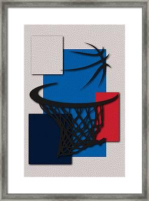 Thunder Hoop Framed Print by Joe Hamilton