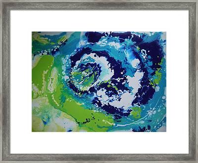 Thunderstorm Framed Print by Bitten Kari