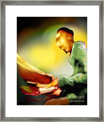 Tickl'n Framed Print by Mike Massengale