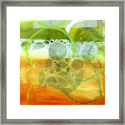 Tidal 13 Framed Print by Jane Davies