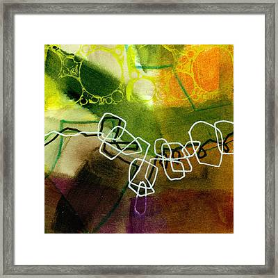 Tidal 18 Framed Print by Jane Davies