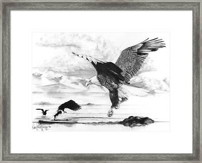 Tidal Bounty Framed Print by Bob Patterson