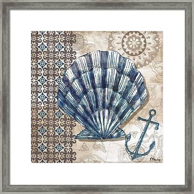 Tide Pool Shells II Framed Print by Paul Brent