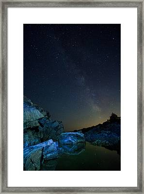 Tide Pool Framed Print by William Sanger