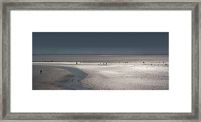 Tidelands Framed Print by Marc Huebner