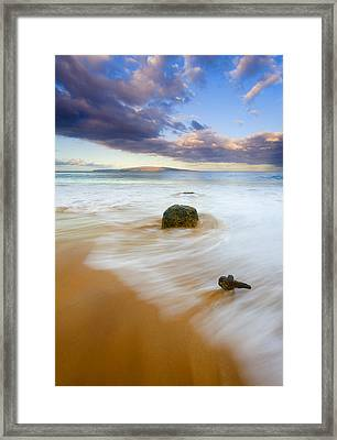Tied To The Past Framed Print by Mike  Dawson