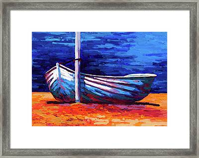 Tied Up Framed Print by Marion Rose