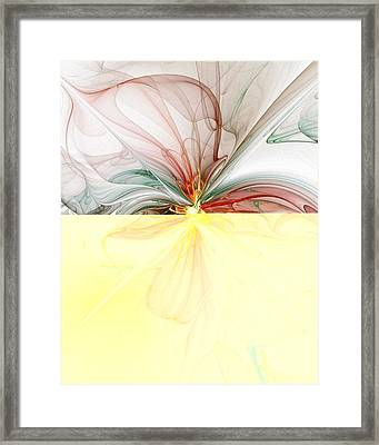 Tiger Lily Framed Print by Amanda Moore