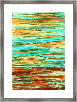 Tiger Sky Framed Print by Barbara Donovan