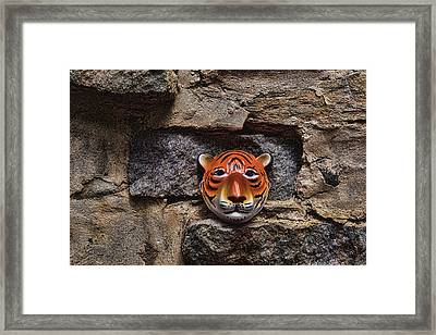 Tigers Den Framed Print by Jeff  Gettis