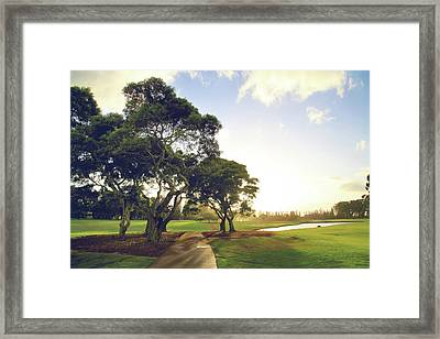'til I'm In Your Arms Again Framed Print by Laurie Search