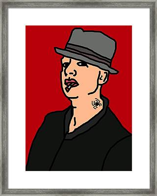 Tim Armstrong Framed Print by Jera Sky