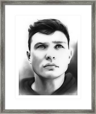 Tim Shieff Framed Print by Greg Joens