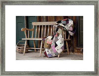 Time For A Rest Framed Print by Carol Hathaway