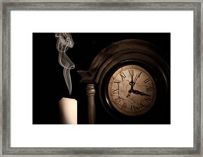 Time For Bed Framed Print by Tom Mc Nemar