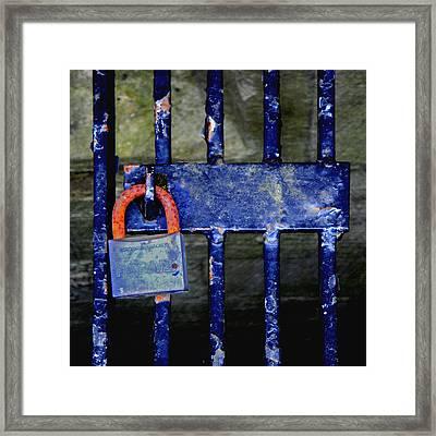 Time Hues Framed Print by Roberto Alamino